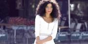 Simona Nicorina Burcea white summer dress