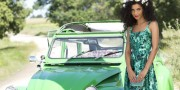 Simona Nicorina Burcea ZARA summer dress