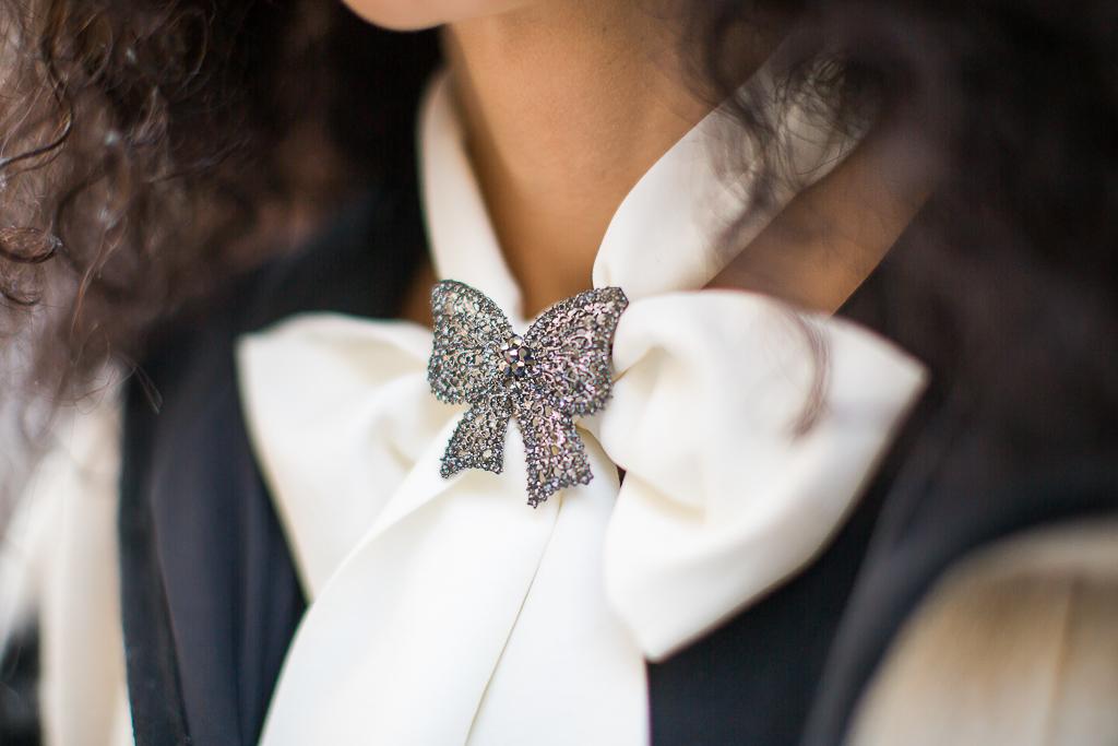 Simonity creative bow tie