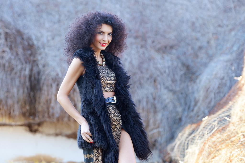 Simona Nicorina Burcea The outfit itself is a celebration!