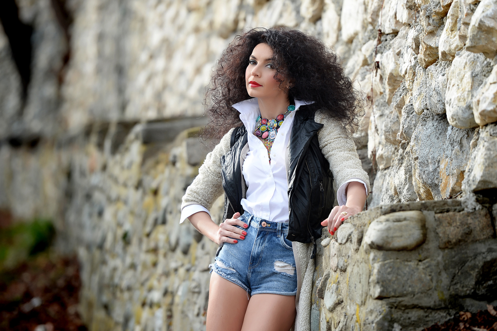 Simona Nicorina Burcea Spring amnesia with layering mood