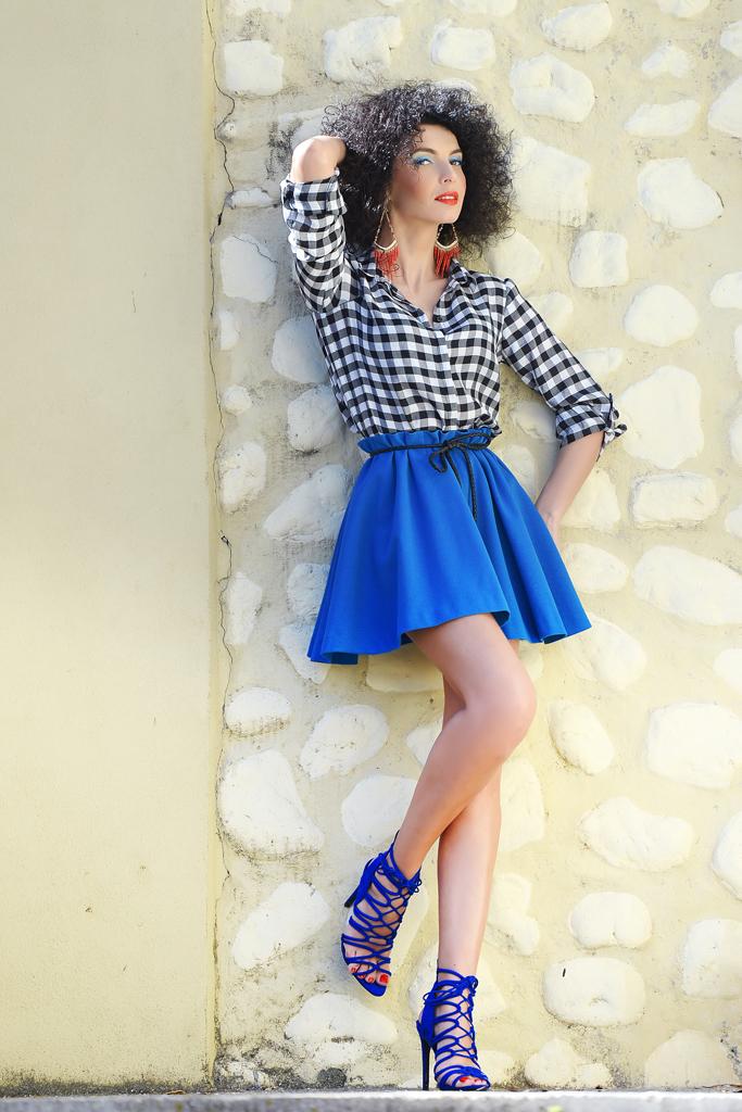 Simona Nicorina Burcea Cobalt Blue